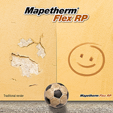 Mapei launch Mapetherm Flex RP base coat