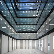 Fire-resistant glass at No.1 Forbury Place