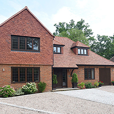 Casement windows for Gerrards Cross new-build