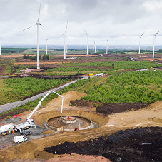 Aggregate provide swift solution for Windfarm