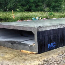 FP McCann's box culverts at Cairngorm housing development
