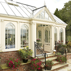 David Salisbury delivers a Tudor Style Conservatory