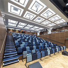 Topakustik panels for Kings College auditorium