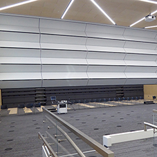 Large Skyfold partition at Oxford Brookes University
