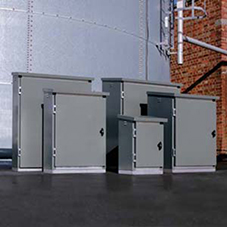 Glasdon extend outdoor industrial cabinet range