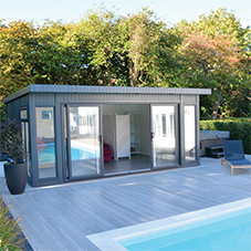 MEDITE MDF solutions ideal for garden rooms