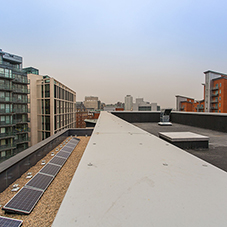 Langley provides multiple roof solutions to new build hotel
