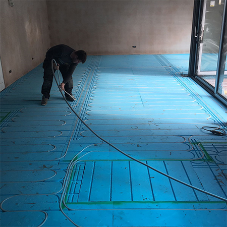 Easyflow chosen for underfloor heating project in Cheshire