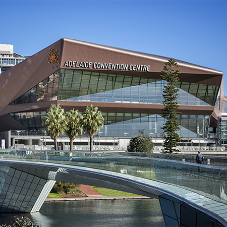 Zinc cladding for Adelaide Convention Centre