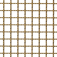 Pre-crimped wire mesh ideal for balustrades & façades
