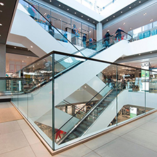 BA Systems balustrades for John Lewis Oxford