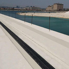 Complete drainage system for Naples port