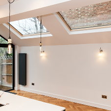 Lumen rooflights for stylish North London kitchen extension