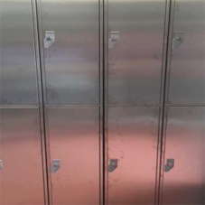 New range of stainless steel lockers