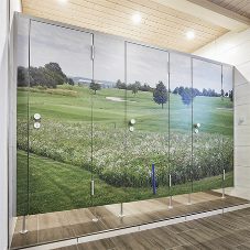 Stunning Kemmlit washrooms for Oberböhringen Golf Course