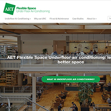 AET Flexible Space launch new website