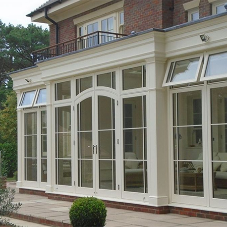 Bespoke Dorset orangery with a stunning view