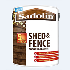 New Sadolin Shed & Fence All Weather woodstain