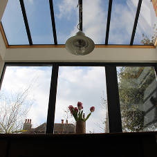 Bespoke Lumen rooflight brings light to kitchen refurb
