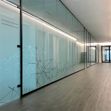 CRL office partition systems for modern interior designs