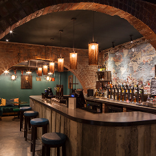 Fuller's Three Guineas pub goes vintage with  LED lighting