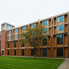 Natural ventilation system at Jesus College
