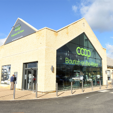 Crofters roofing tile for Eco-Friendly supermarket