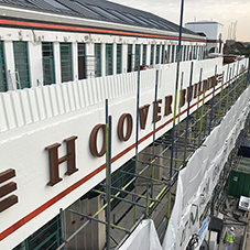 Long-term concrete protection for The Hoover Building