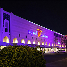 Pulsar lights withstand the elements at Bahrain mall