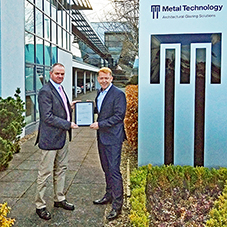 Metal Technology receive BES 6001 accreditation