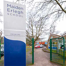 Flexible heating for Maiden Erlegh School