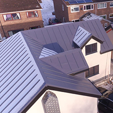 IKO Polymeric system for Goosecrof Lane housing