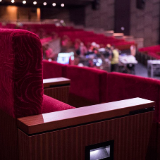 Poltrona Frau seats chosen for MGM Theater at COTAI