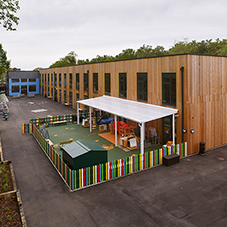 Range of Broxap products for Ark Byron Academy