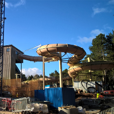 Aggregate in at deep end of Center Parcs revamp