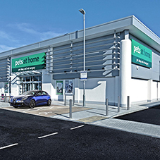 Movement joint beads critical at Treliske Retail Park