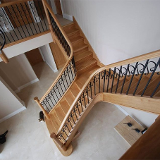 Stunning staircase from H & S Joinery