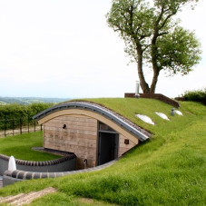 Added green roof protection for former WWII bunker