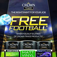 Crown Trade launch summer football promotion