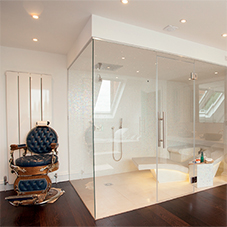 'One of a kind' steam room for London mansion