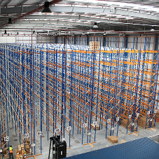 Choosing a warehouse racking system