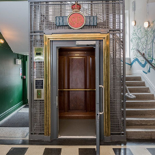 Stannah resurrects a 1930s passenger lift in YMCA