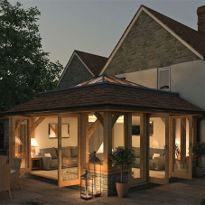 Stunning oak orangery project in Somerset