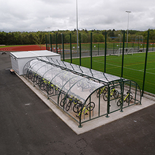 Broxap external furniture for Greenfaulds High School