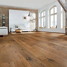French oak floor for private residence