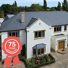 Cembrit Glendyne slates have 75 year guarantee