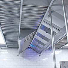 Hygienic solutions from floor to ceiling