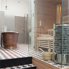 Bespoke sauna and steam room for Highgate resident