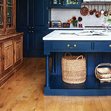 Solid wood floor featured in House and Garden