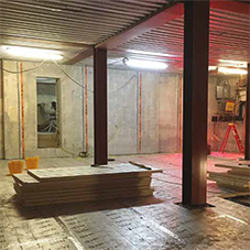 Delta basement waterproofing for London Synagogue